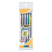 Bic Pencil 0.7Mm 5 Pack